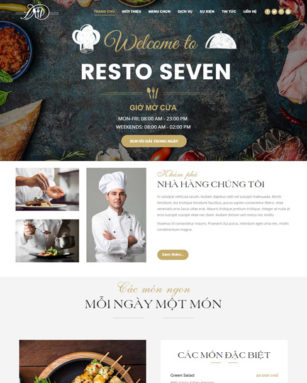 website-nha-hang
