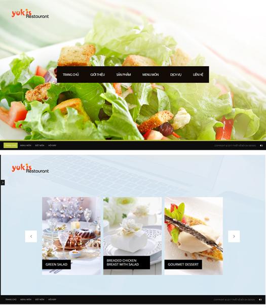Dự án web nhà hàng