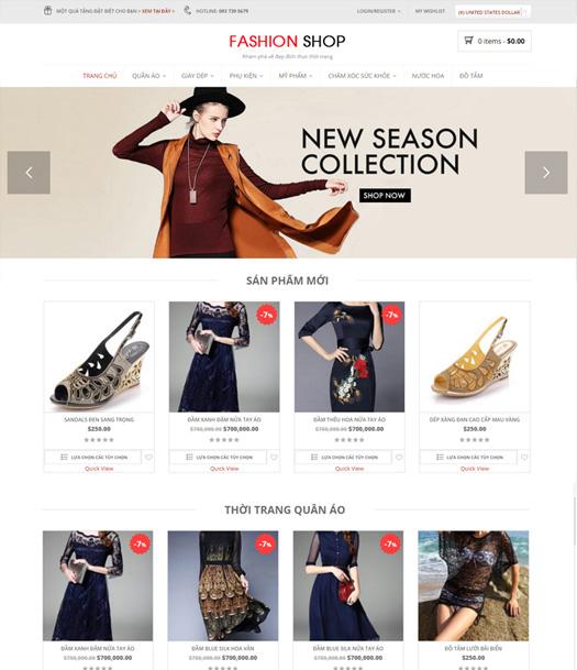 Thiết kế web bán hàng